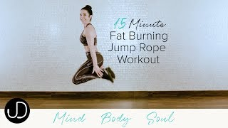 *15 MINUTE FAT BURNING JUMP ROPE WORKOUT* Watch Janine Delaney''s 15 Minute Fat Burning Workout