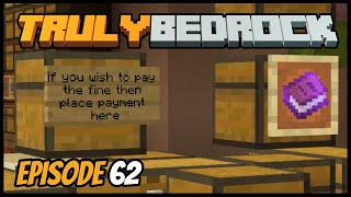39000 Iron Fine! - Truly Bedrock (Minecraft Survival Let's Play) Episode 62