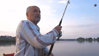 Рыбалка на макушатник. Днестр конец июня