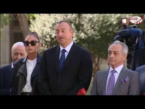 Prezident İlham Əliyev Rəşid Behbudovun abidəsinin açılışında iştirak edib