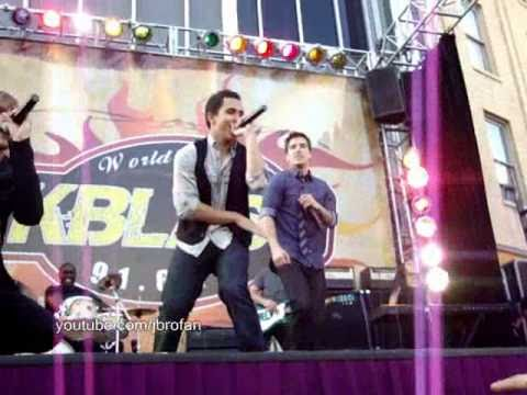 Big Time Rush - Till I Forget About You - full (live) Performance