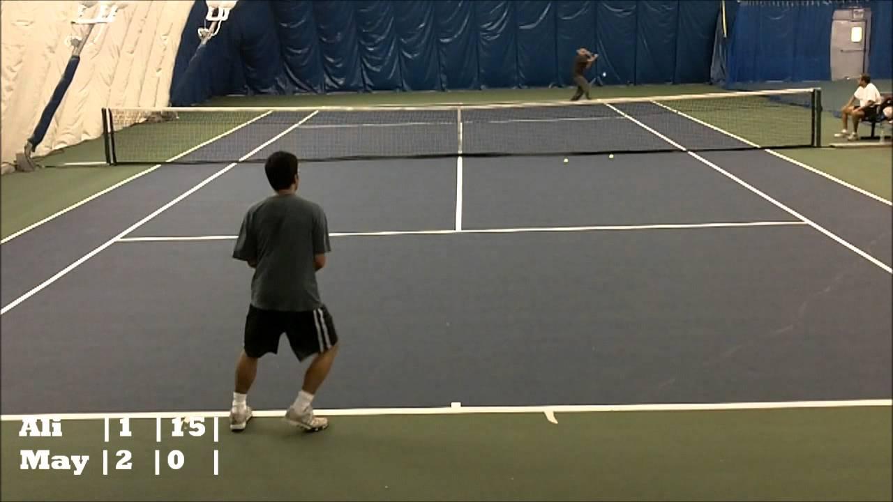 Amateur tennis rating
