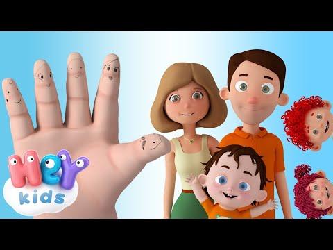 HeyKids – La Familia Dedo – Canciones Infantiles | HeyKids – Cantece pentru copii in limba spaniola