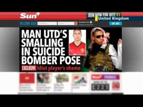 Manchester United Suicide Bomber Fancy Dress: Chris Smalling apologizes for terrorist costume