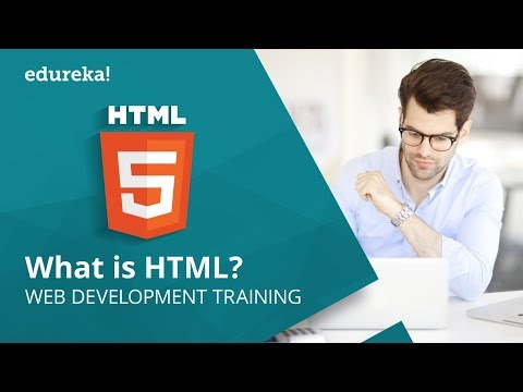 HTML Tutorial: What Is HTML? | Create Web Page Using HTML | Learn HTML in 20 Minutes | Edureka
