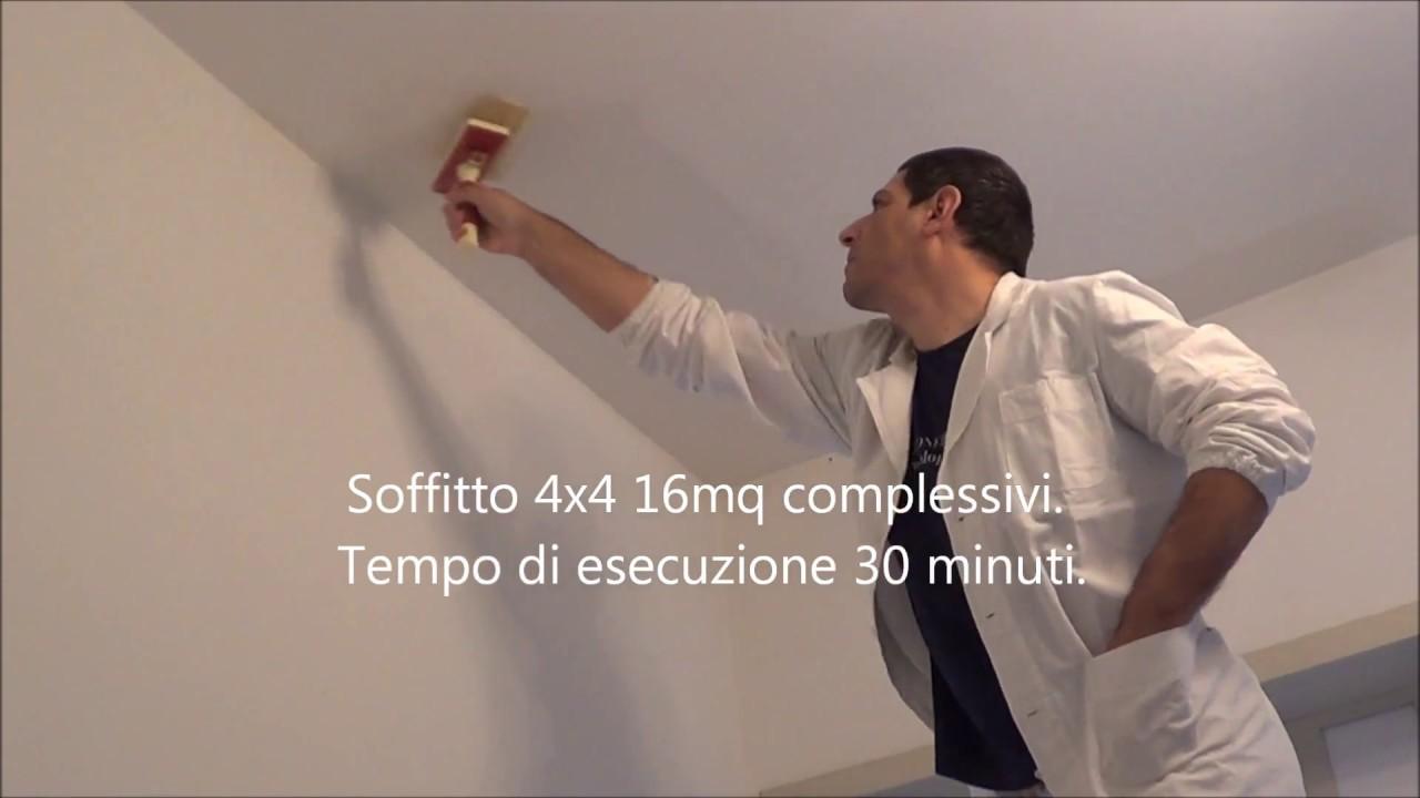 Come Pitturare Le Pareti Di Una Scala Interna tinteggiatura tutorial completo (parte 4): tinteggiare il soffitto.