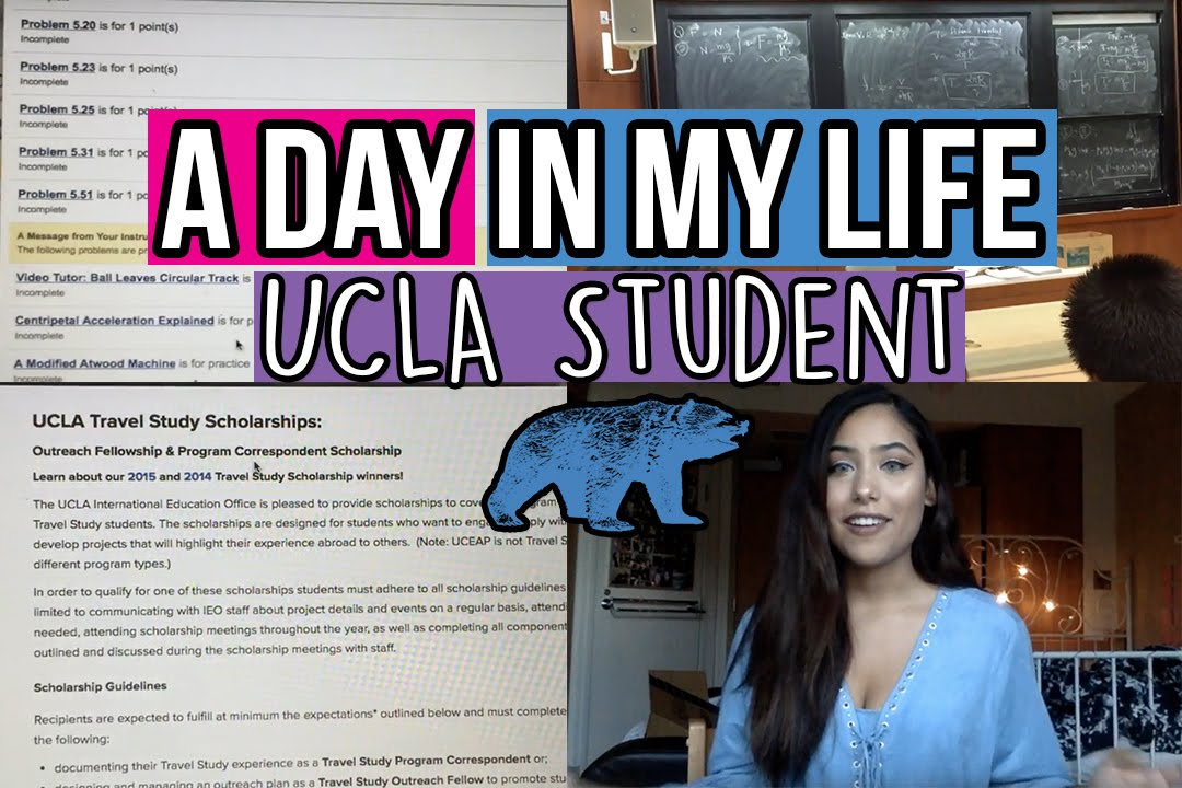 Follow Me Around Ucla Student L Weight Loss Homework And Studying