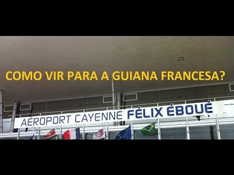 "#2 Eu e ""como vir para a Guiana Francesa?"""