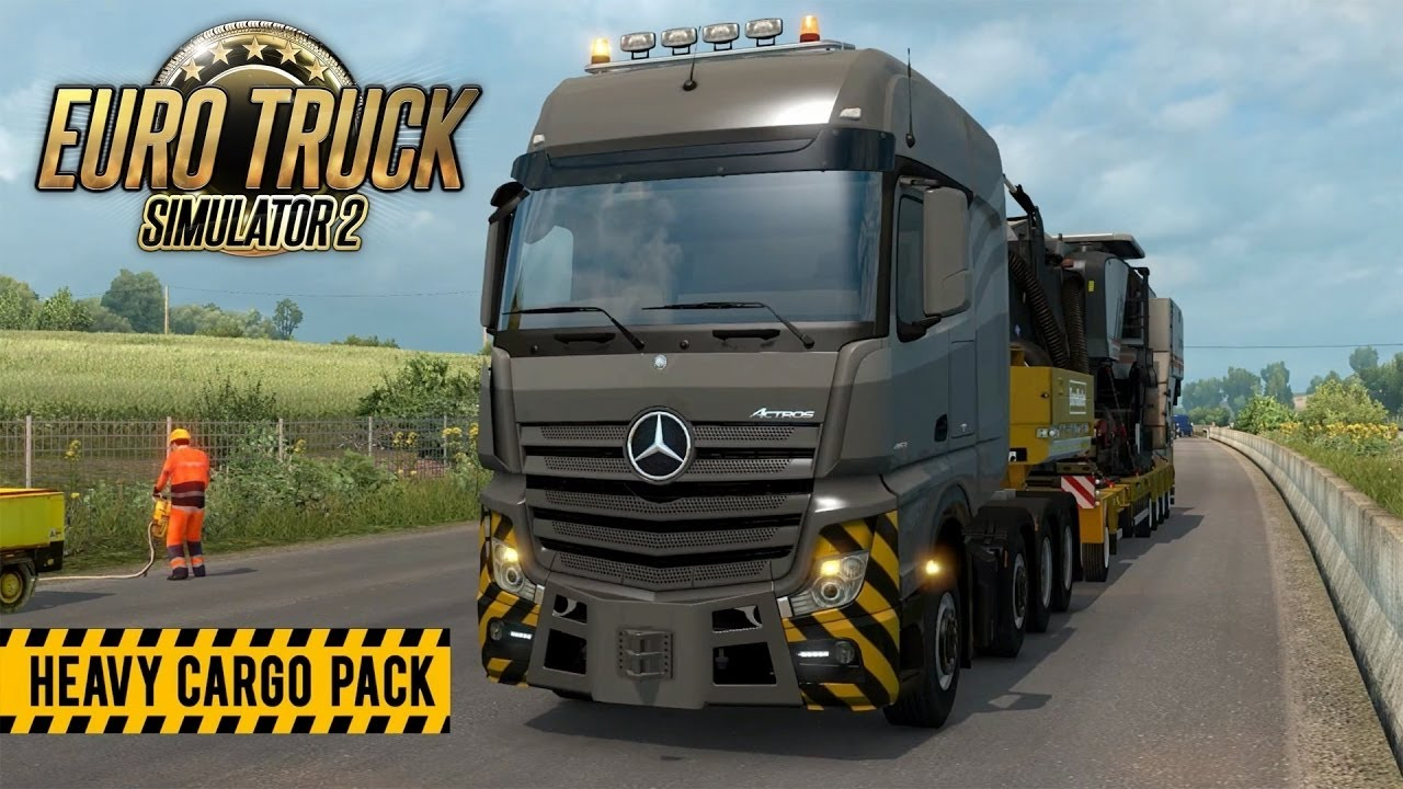 How To Download Install Euro Truck Simulator 2 Heavy Cargo Pack