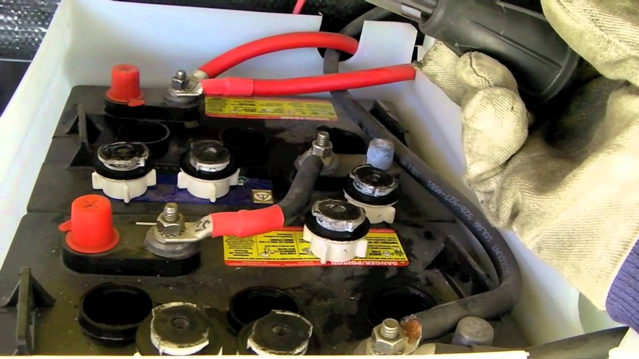 How To Maintain Amp Equalize Rv Batteries Youtube