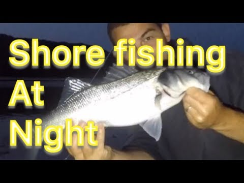 Sea Fishing UK - Shore Fishing For Bass