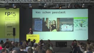 re:publica 2015 - Johannes Kleske: Mensch, Macht, Maschine – Wer bestimmt wie wir morgen arbe...
