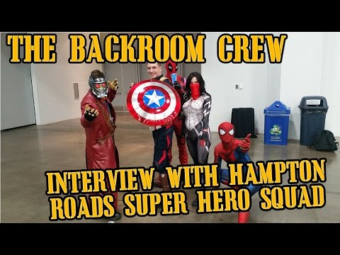 tidewater comic con Interview with the hampton roads super hero squad