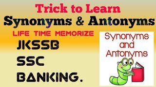 Tricks to Learn Synonyms and Antonyms (Vocabulary) fast in Hindi at home | How to improve Vocab !