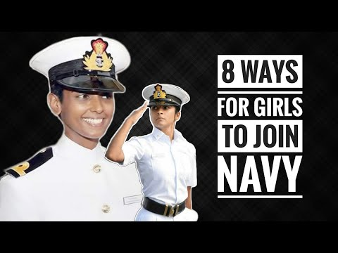 8 Ways For Girls To Join Indian Navy - How Girls Can Join Indian Navy (Hindi)
