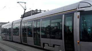 Dublin tram- the Luas