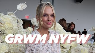 Zimmermann Show New York Fashion Week | GRWM