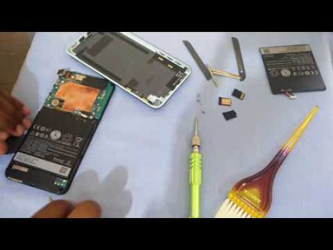 Battery Replacement of HTC Desire 820(HINDI)