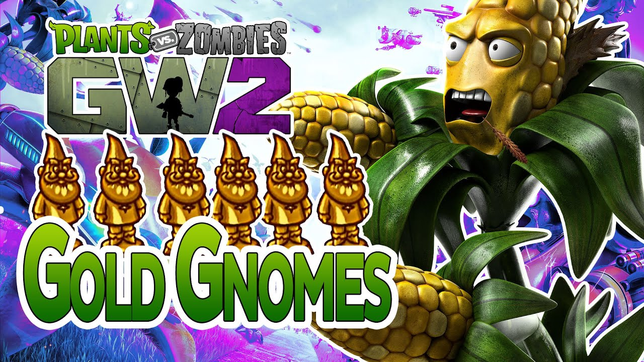 Plants Vs Zombies Garden Warfare 2 Gnome Man 39 S Land Achievement Gold Gnome Locations Youtube