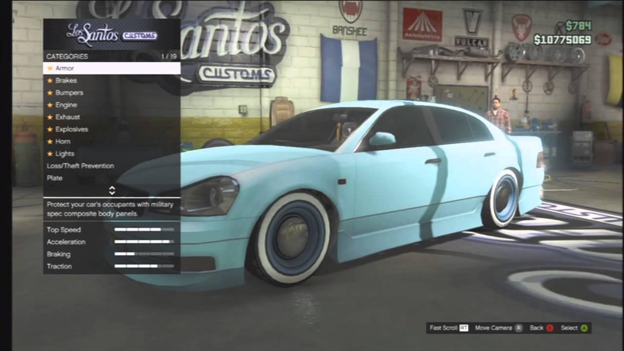 Gta Karin Intruder Best Drift Car On Gta Youtube