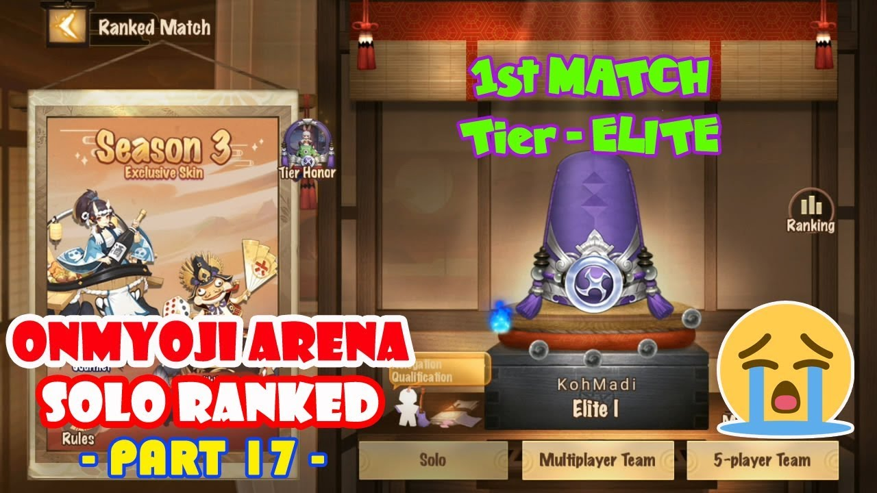1st MATCH IN TIER ELITE - ONMYOJI ARENA INDONESIA #17