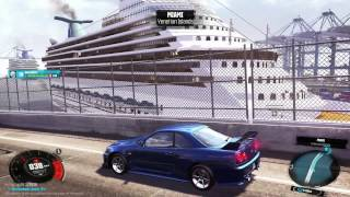 The Crew - Driving around in Miami Gameplay HD