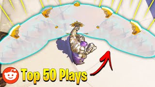 Overwatch: *NEW* Top 50 Most UPVOTED Clips! - 200IQ Plays & Insane Viral Overwatch Moments Montage