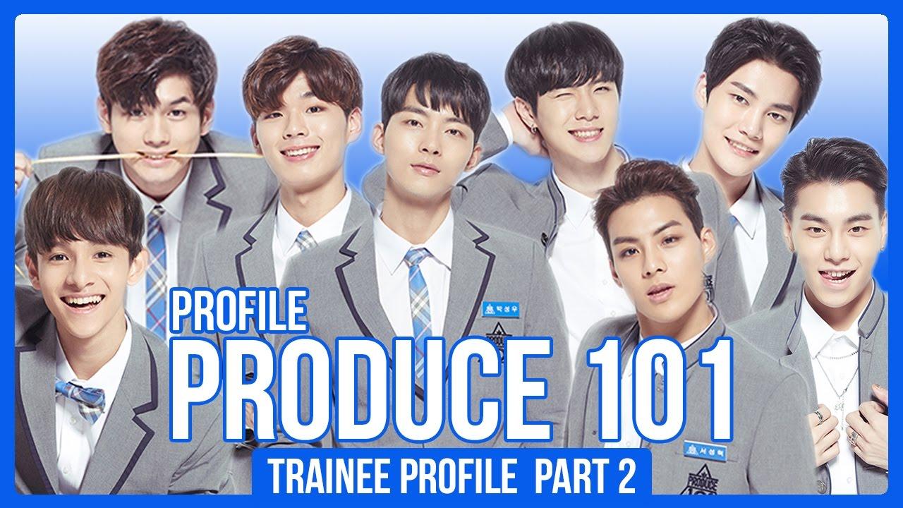 Produce 101 Season 2 Contestants Profile! (30 Boys)   PART