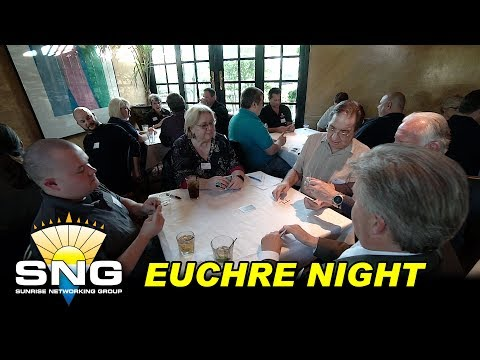 SNG Euchre Night at Mon Jin Lau | Business Networking Event | Sunrise Networking Group SNG