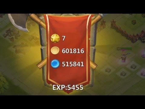 Castle Clash - Created A New Guild + 600k Gold Raid