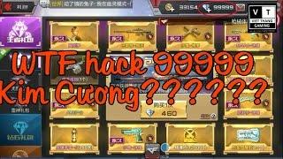 Cf mobile - Tìm ra thánh Hack 99999 kim cương