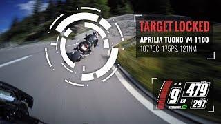 Who is faster??? Aprilia Tuono V4 1100 vs Yamaha MT-10/FZ-10 | RAW Engine Sound [4K]