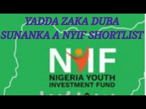 Download YADDA ZAKA DUBA SUNANKA A NYIF SHORTLIST