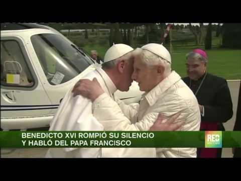 Benedicto XVI rompió