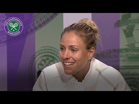 Angelique Kerber Wimbledon 2017 third round press conference