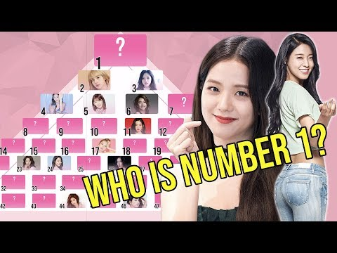 The Top 50 Girl Group Idols in Kpop - 2019 RANKED!