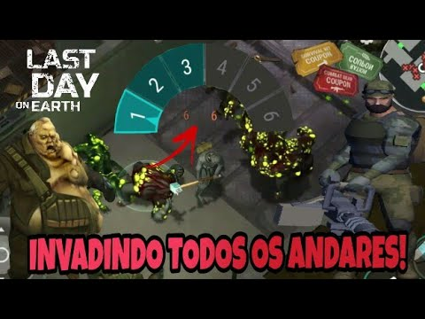 INVADINDO TODOS OS ANDARES DO BUNKER! Last Day On Earth