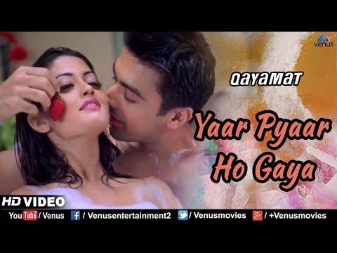 Yaar Pyaar Ho Gaya - HD VIDEO | Riya Sen & Aashish Chaudhary | Qayamat |90's Bollywood Romantic Song