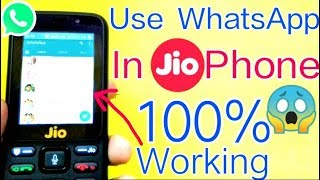 Use Whatsapp on JioPhone || Install Whatsapp in Jio Phone Trick