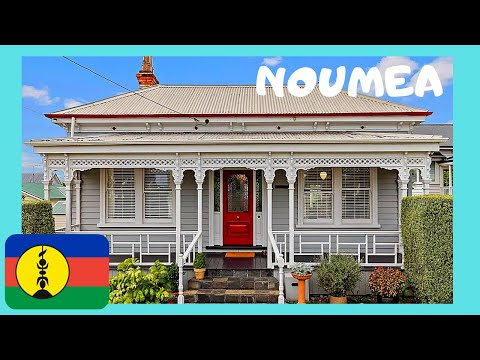 NOUMEA, the HISTORIC FRENCH HOUSES of beautiful NEW CALEDONIA (Pacific Ocean)