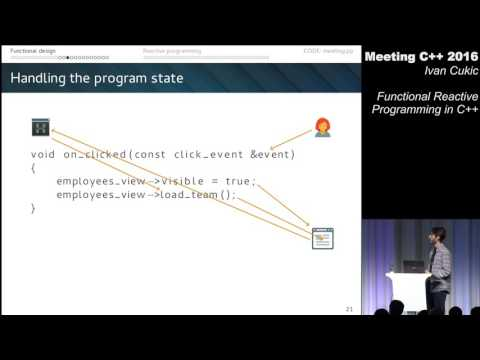 Functional reactive programming in C++ - Ivan Cukic - Meeting C++ 2016