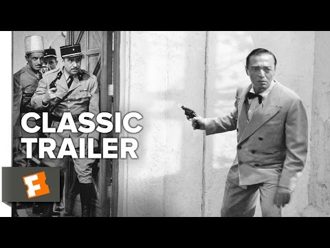 Casablanca (1942) Official 70th Anniversary Trailer - Humphr