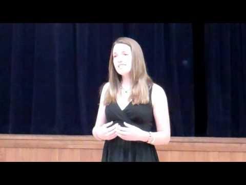 Katherine Alexander singing