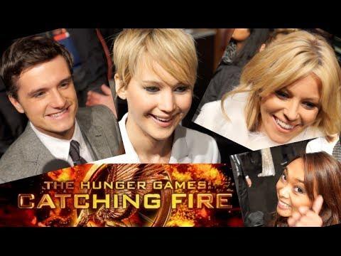 Tribute von Panem Catching Fire Premiere I Die Stars auf dem roten Teppich I Traum-FMA