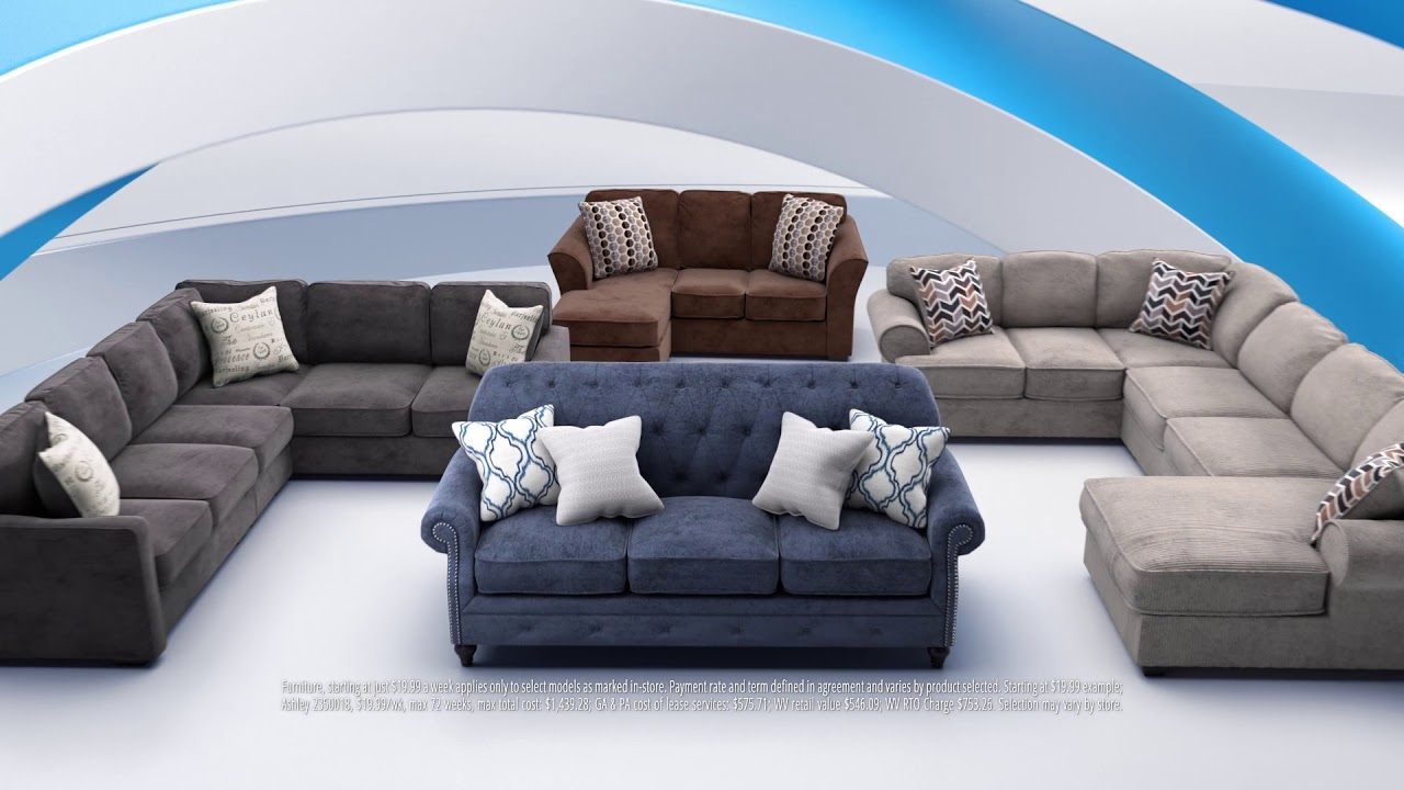 Living Room Sets From $19.99, Only At RAC