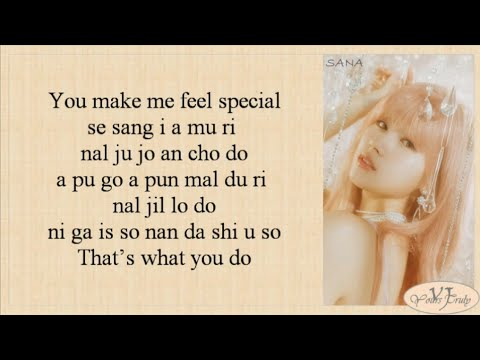 twice feel special 歌詞