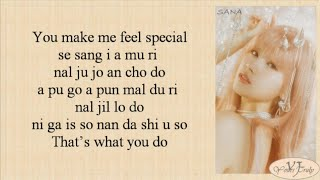 TWICE (트와이스) - Feel Special (Easy Lyrics)