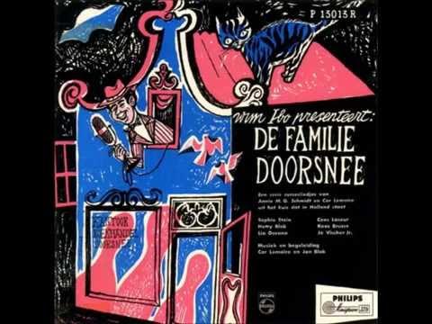 """Familie Doorsnee, Aflevering """"Puzzelen"""" Radioserie van Annie M.G. Schmidt en Wim Ibo. (1952-1958)"""