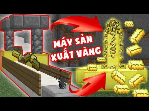 Nhà Máy Sản Xuất Vàng Vip Nhất Minecraft ??