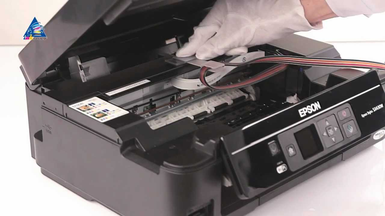 How To Install Ciss For All In One Epson Stylus Sx440w